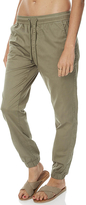 Swell Essential Womens Chino Jogger Green
