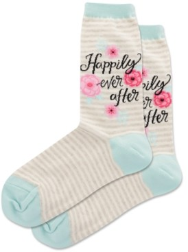 Hot Sox Happily Ever After Crew Socks