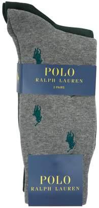 Polo Ralph Lauren Polo Pony Socks (Pack of 2)