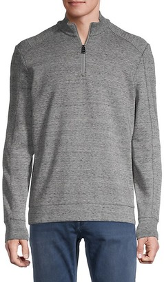HUGO BOSS Sidney Half-Zip Knit Sweater