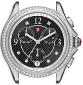 Michele Belmore Chrono Diamond Diamond Dial Watch Case, 37mm