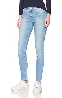 Wrangler Women's Skinny Jeans, Blue (Blue Rise 34P)
