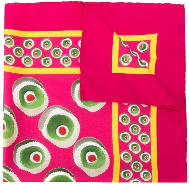 Dolce & Gabbana Cassata print scarf