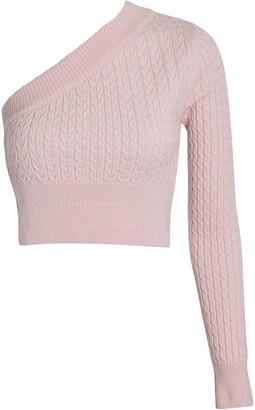 GAUGE81 Welling One-Shoulder Cashmere Sweater
