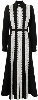 Gabriela Hearst Kari flared shirt dress