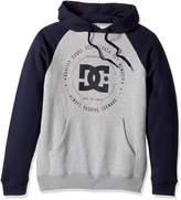 DC Men's Rebuilt Pullover Raglan Sweatshirt