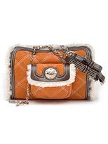 Luella Sheepskin Fury Boxy Bag