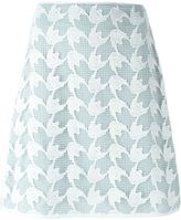 Tory Burch crochet overlay skirt - women - Polyester - 4