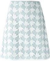 Tory Burch crochet overlay skirt