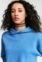 Urban Outfitters Rainbow Statement Choker Necklace