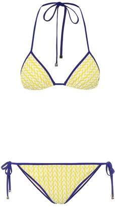 Valentino Exclusive to Mytheresa printed triangle bikini