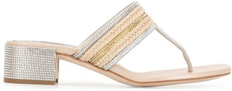 Rene Caovilla T-bar strap sandals