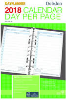 Debden 2018 Dayplanner Refill Desk Day To Page