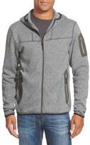 Arc'teryx 'Covert' Relaxed Fit Technical Fleece Full Zip Hoodie