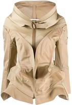 Junya Watanabe round neck layered jacket