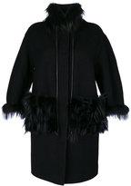 Ermanno Scervino fur coat - women - Cupro/Virgin Wool - 38