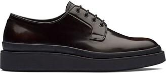 Prada Brushed Derby Shoes