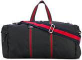 Gucci web-trimmed duffle bag