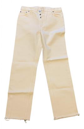 Celine White Denim - Jeans Jeans