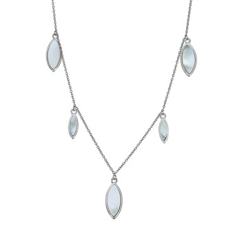 Abalone Drop Pendant Necklace
