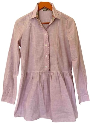 Burberry Pink Cotton Top for Women