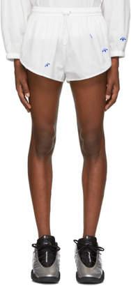 adidas by Alexander Wang White AW Shorts