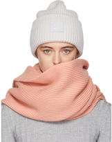 Acne Studios Grey Pansy L Face Beanie