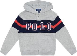 Polo Ralph Lauren Kids Logo cotton-jersey hoodie