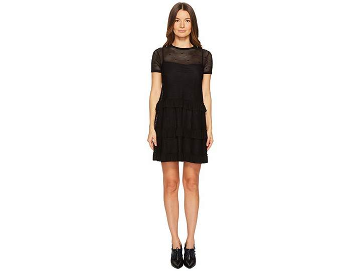 RED Valentino Jersey Mesh Dress Women's Dress