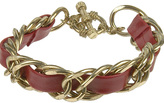 Forever 21 Interwoven Faux Leather Bracelet