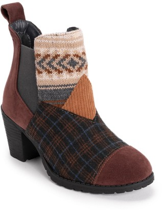 Muk Luks Nadine Women's Water Resistant Ankle Boots