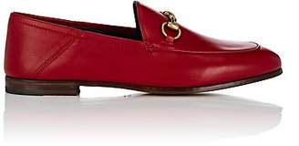 Gucci Women's Brixton Leather Loafers - Red
