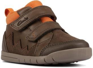 Clarks Rex Park Toddler Boot - Khaki