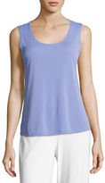 Eileen Fisher Silk Jersey Tank Top, Plus Size