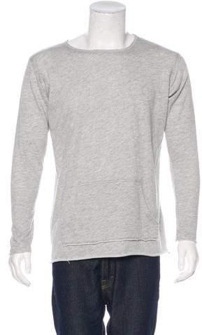 Greg Lauren Fleece Longline Sweatshirt