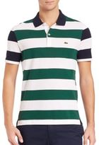 Lacoste Nautical Stripe Polo Shirt