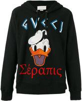 Gucci terry-flocked sweatshirt