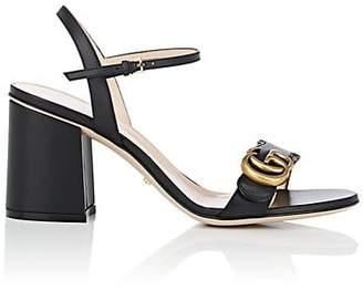 Gucci Women's Marmont Leather Sandals - Black