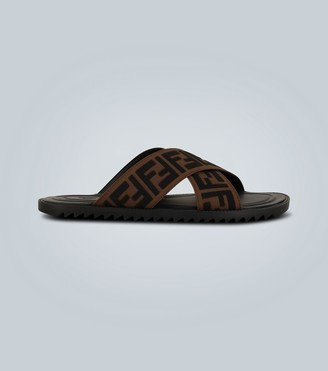 Fendi FF motif sandals