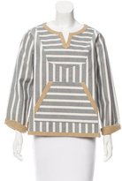 Kule Structured Striped Tunic w/ Tags