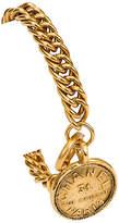 One Kings Lane Vintage Chanel Oversize Chain Coin Bracelet