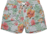Hartford Mid-Length Floral-Print Swim Shorts
