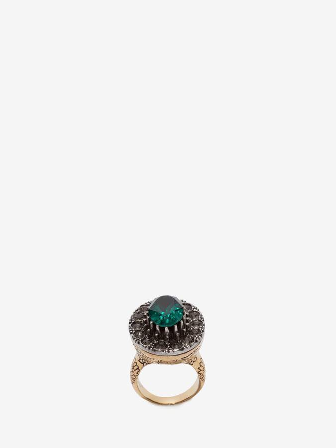 Alexander McQueen Jeweled Ring