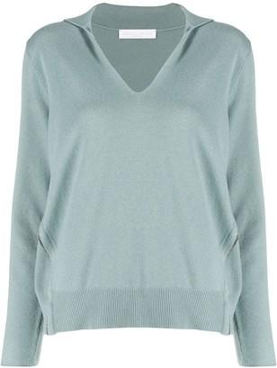 Fabiana Filippi v-neck knitted top