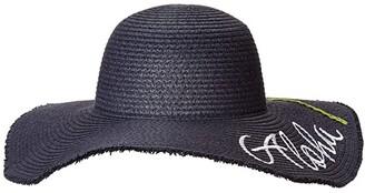 Appaman Kids Aloha Hat (Little Kids/Big Kids) (Navy Blue) Caps