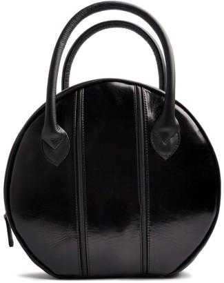 Ostwald Finest Couture Bags Circle Soft Medium In Nero-Black