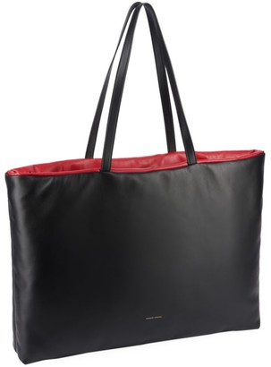 Mansur Gavriel Pillow Reversible Leather Tote