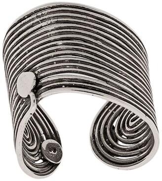 Gas Bijoux Metallic Thread Ring