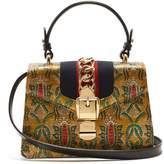 Gucci Sylvie mini brocade shoulder bag
