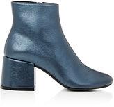 Maison Margiela Women's Metallic Leather Ankle Boots